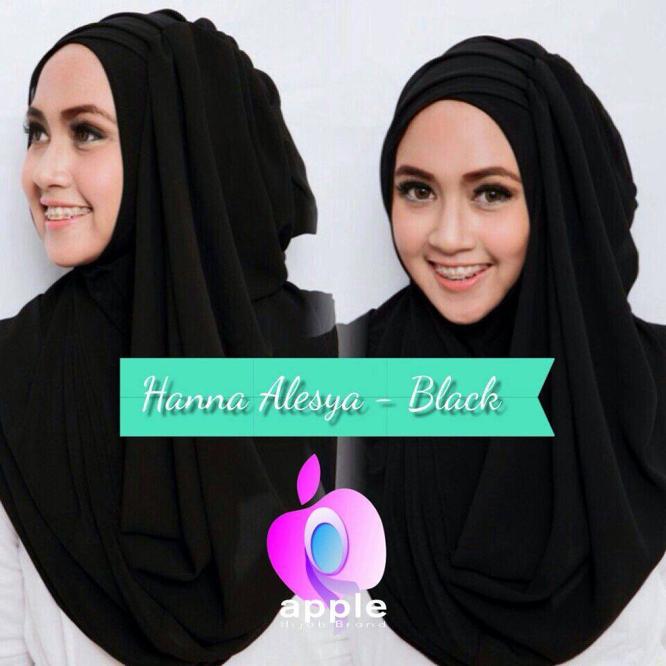 jilbab-instan-hanna-aleysa-black-by-apple-alesa-grosir