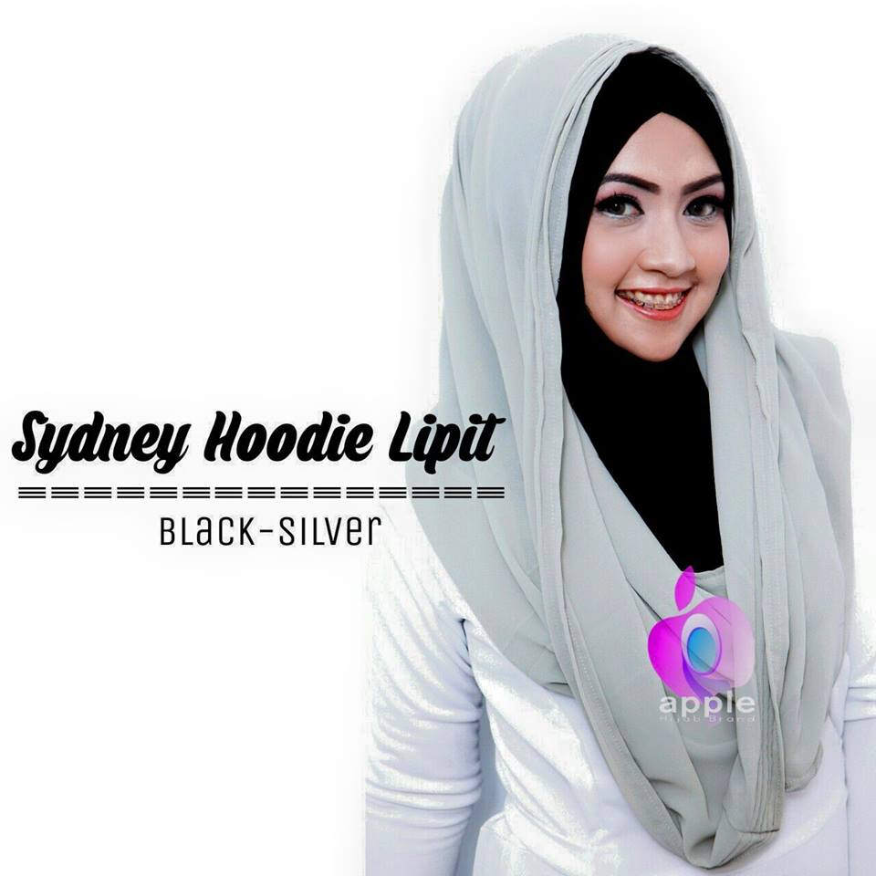 sydney-hoodie-lipit-black-silver-by-apple-alesa-hijab-grosir