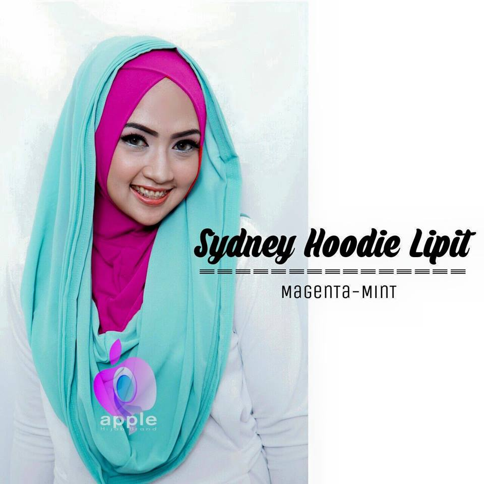 sydney-hoodie-lipit-magenta-mint-by-apple-alesa-hijab-grosir