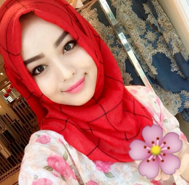 Pasmina Arabian Kotak Red