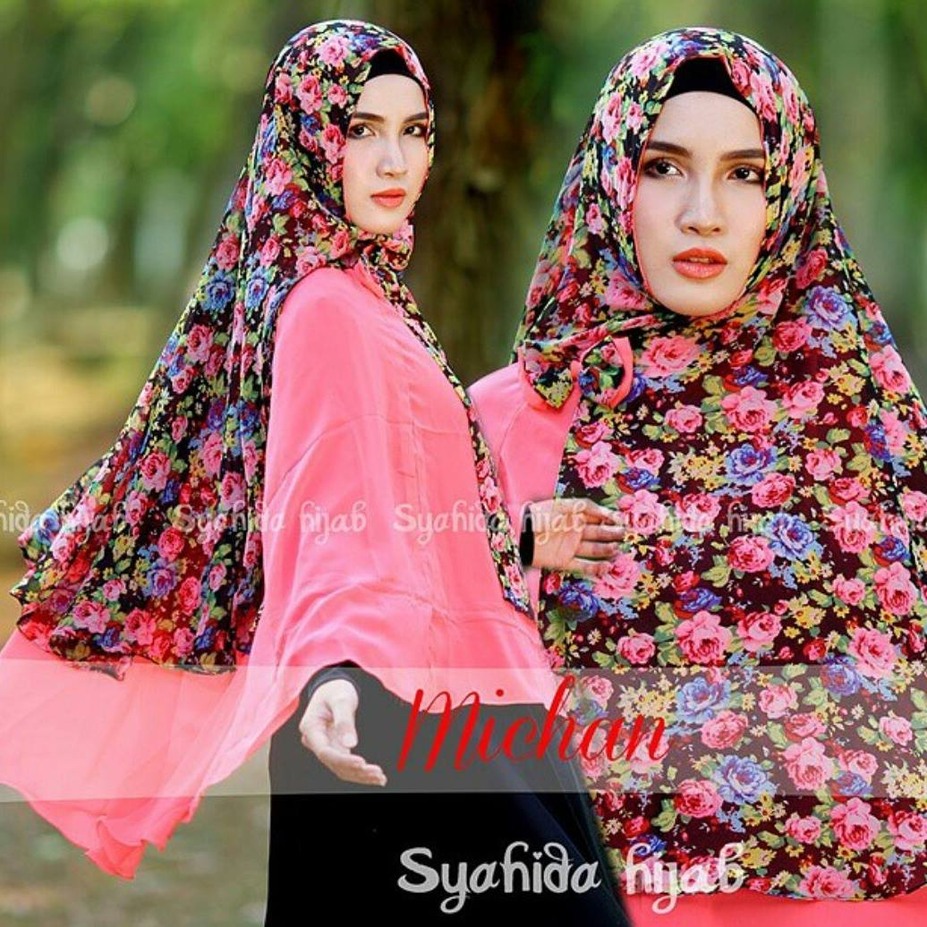 alesa hijab jual michane by syahida