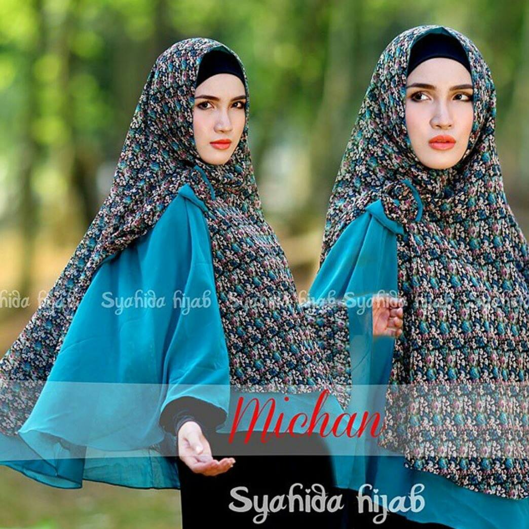 grosir khimar michane by syahida