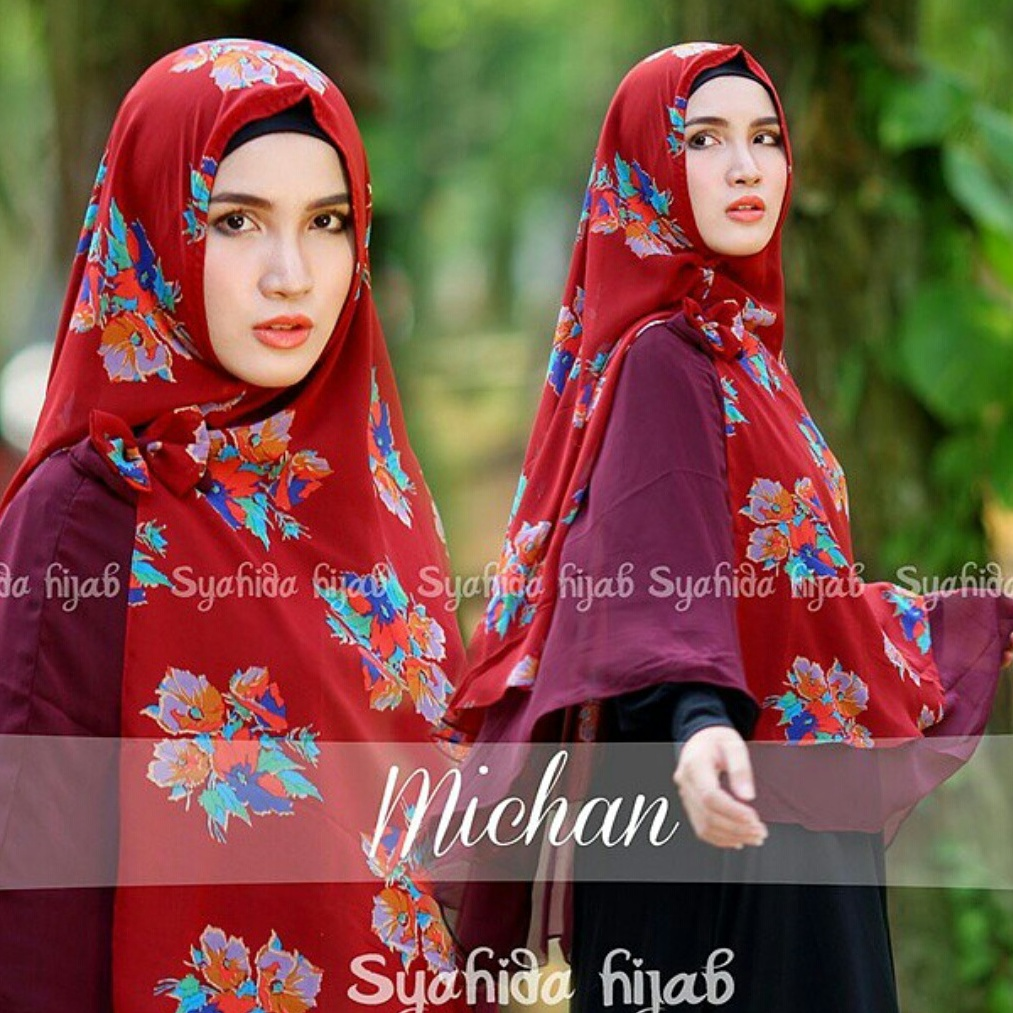 jual khimar ceruti michane by syahida