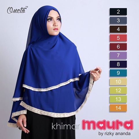 jual khimar instan maura by oneto