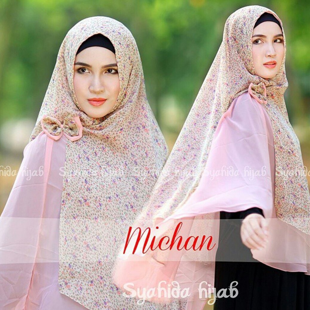 jual khimar michane by syahida hijab