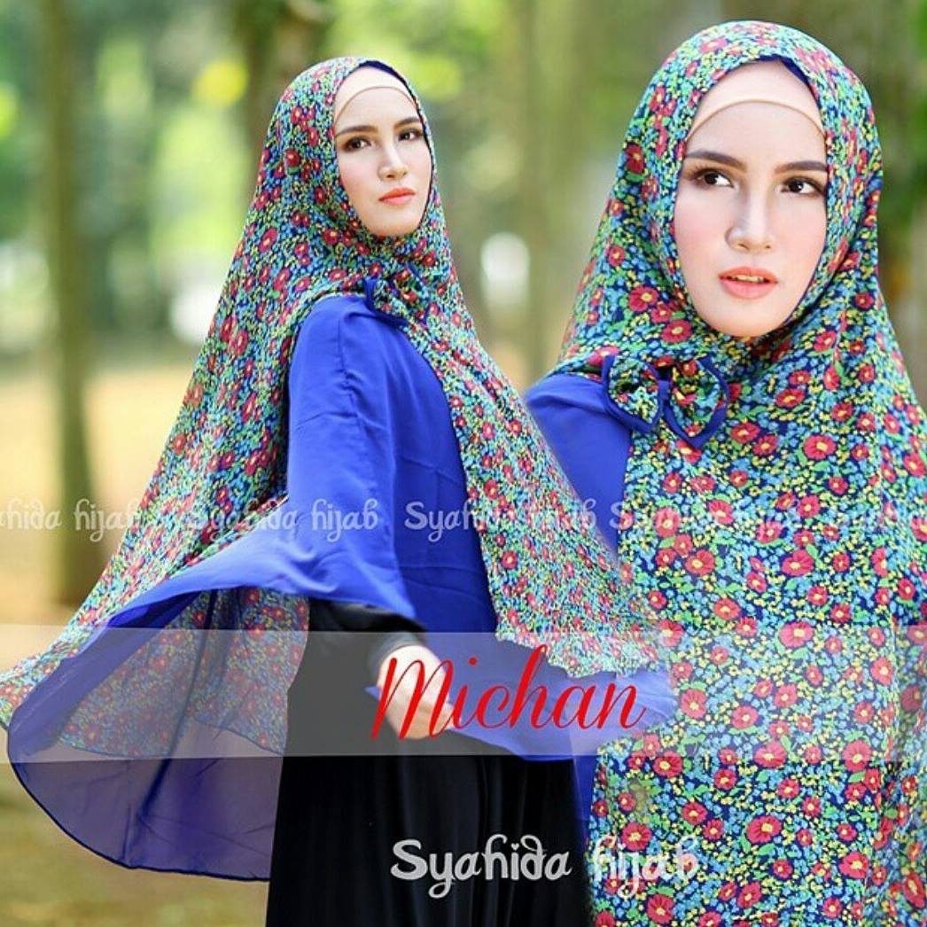 jual khimar michane instan by syahida