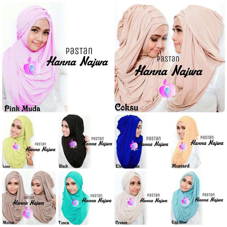 apple hijab hana najwa