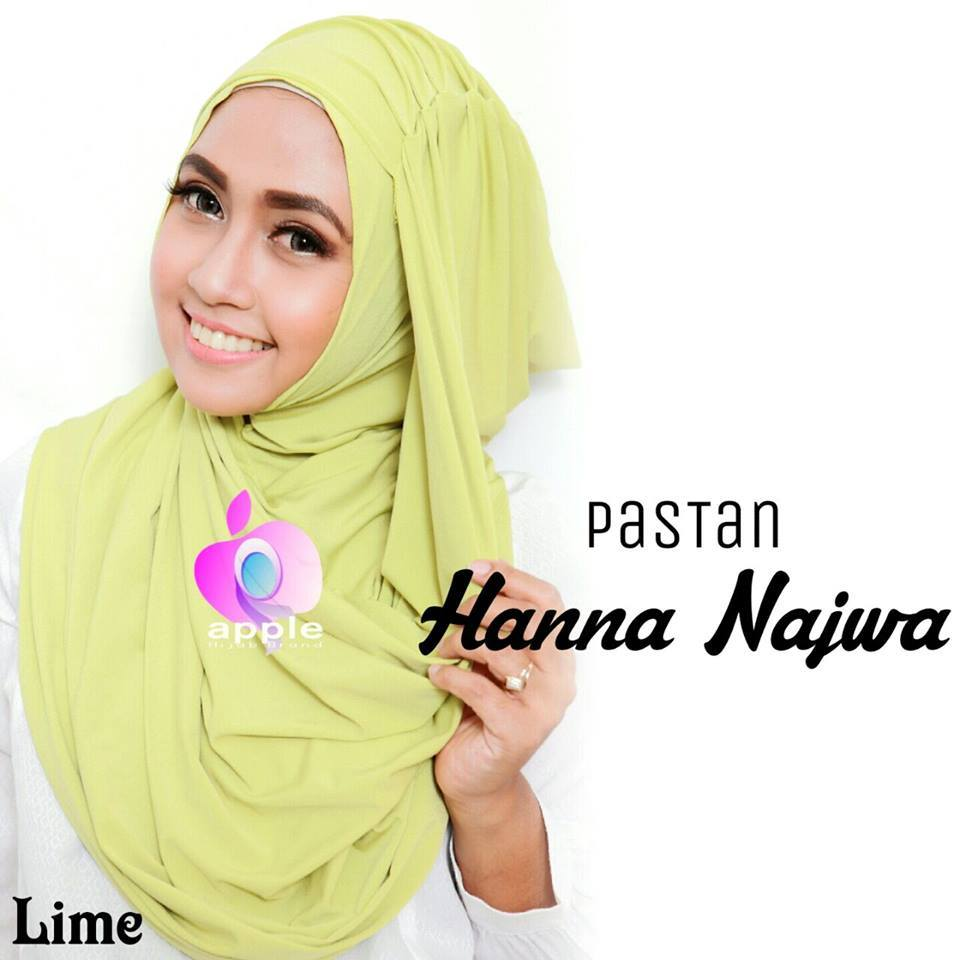 apple hijab hanna najwa lime