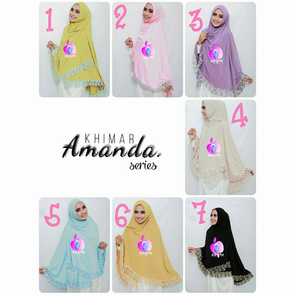 apple hijab khimar amanda