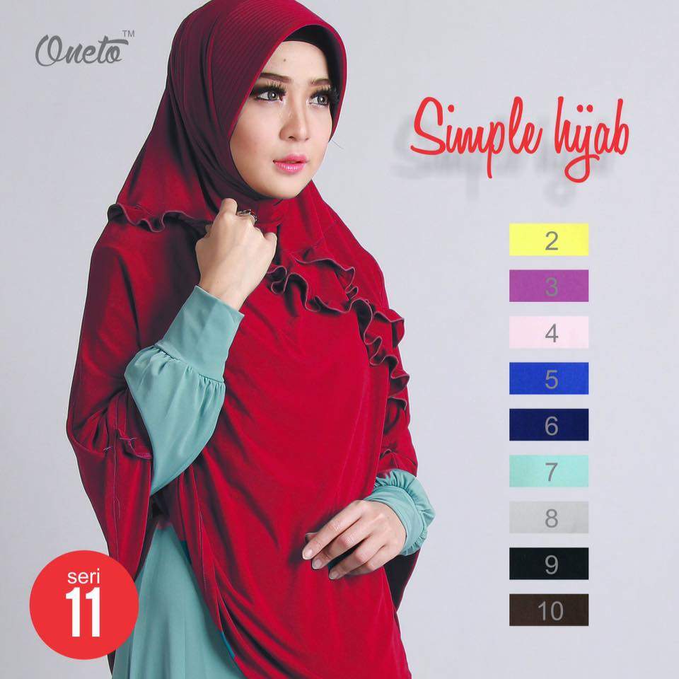 oneto simple hijab 11