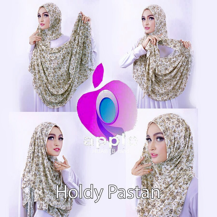 apple hijab tutorial holdy pastan