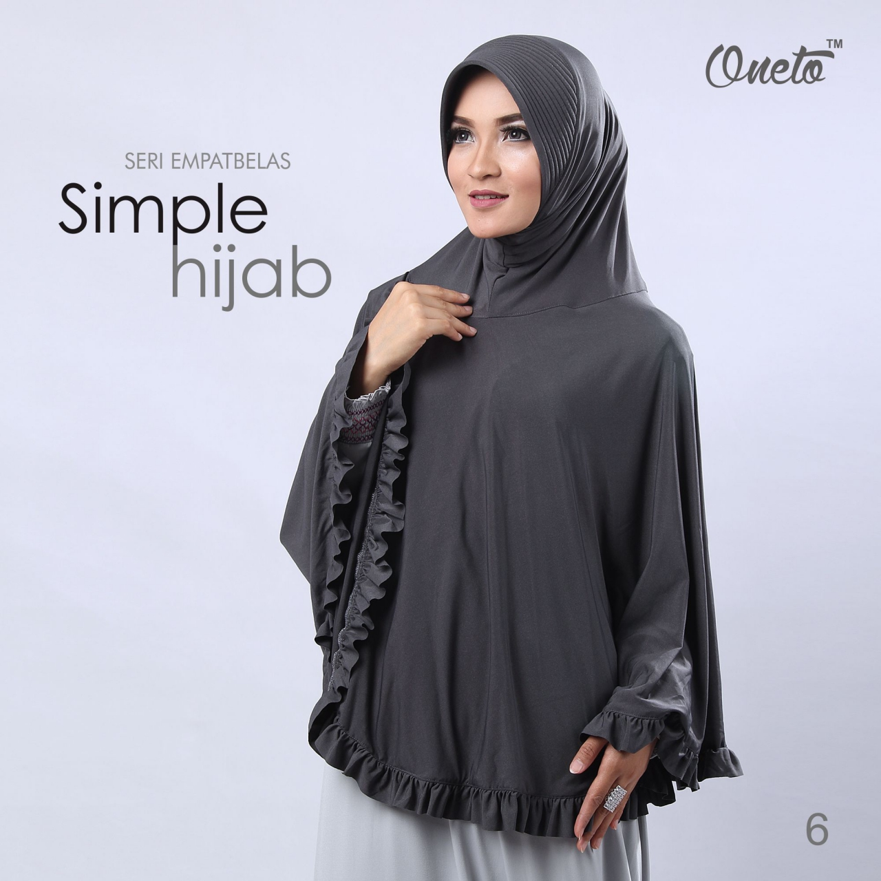 oneto jilbab simple hijab 14 abu