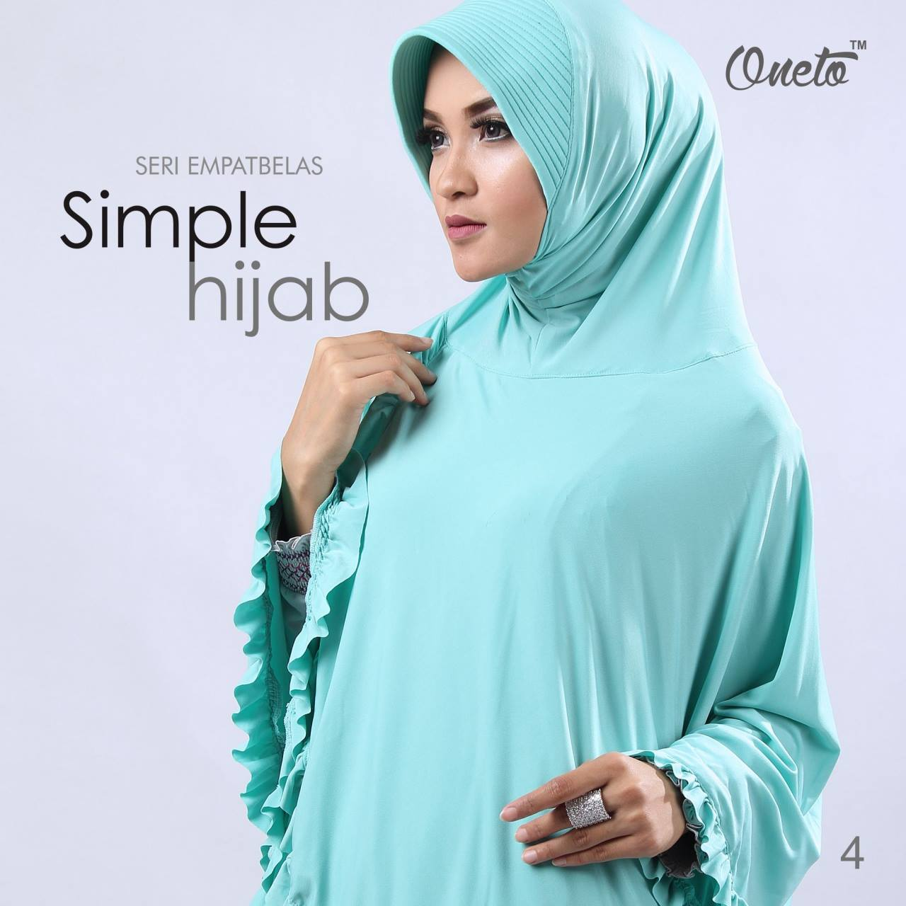oneto jilbab simple hijab 14 mint