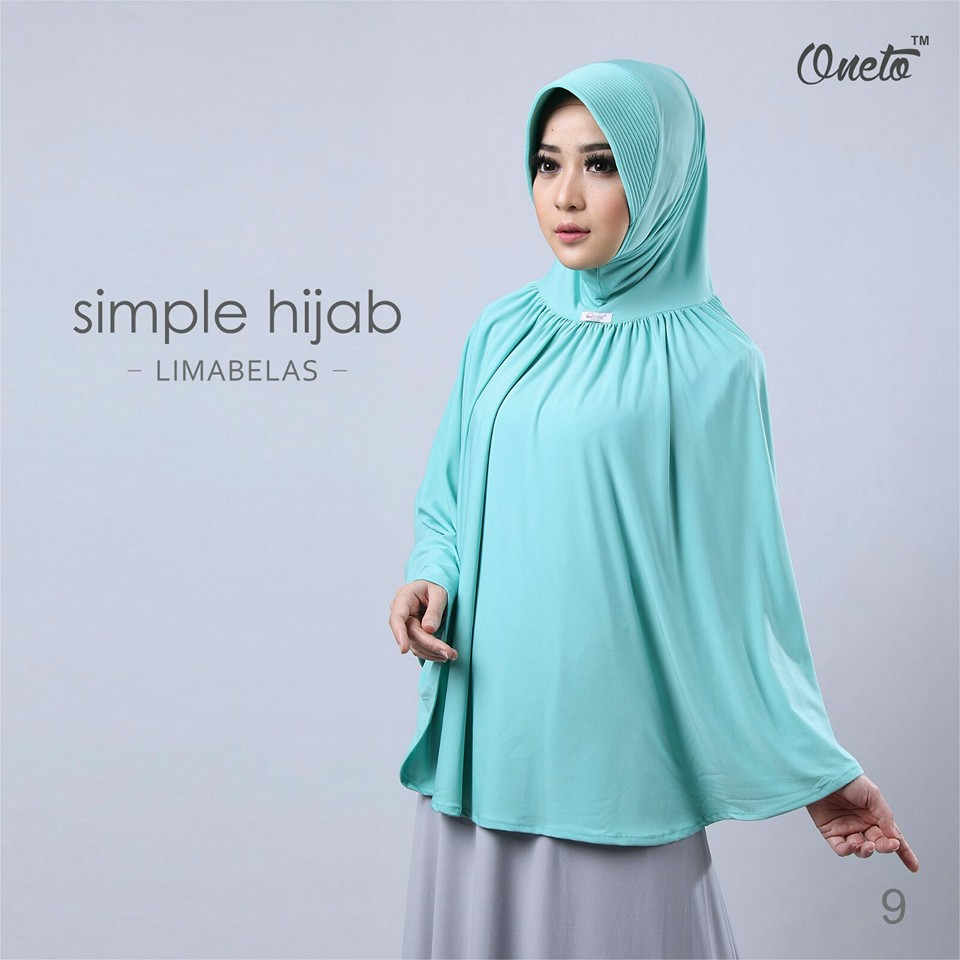 oneto simple hijab 15 mint