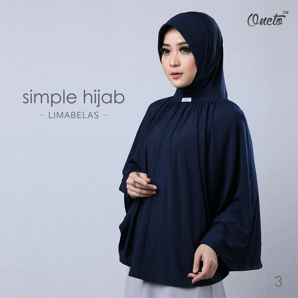 oneto simple hijab 15 navy