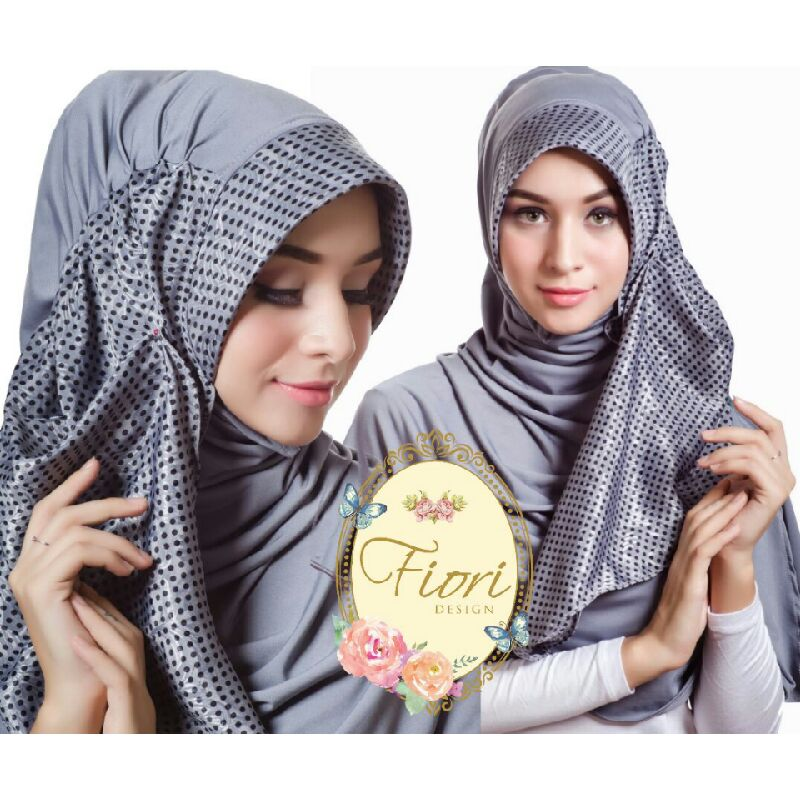 fiory jilbab pet Rhalien grey