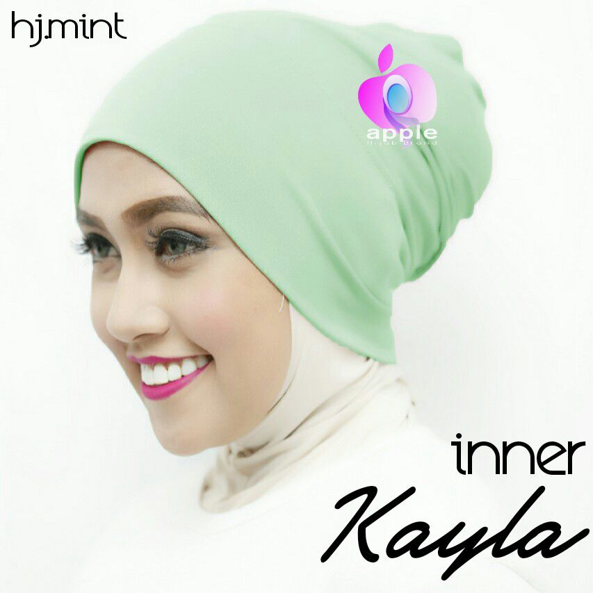 apple hijab inner kayla mint non pet