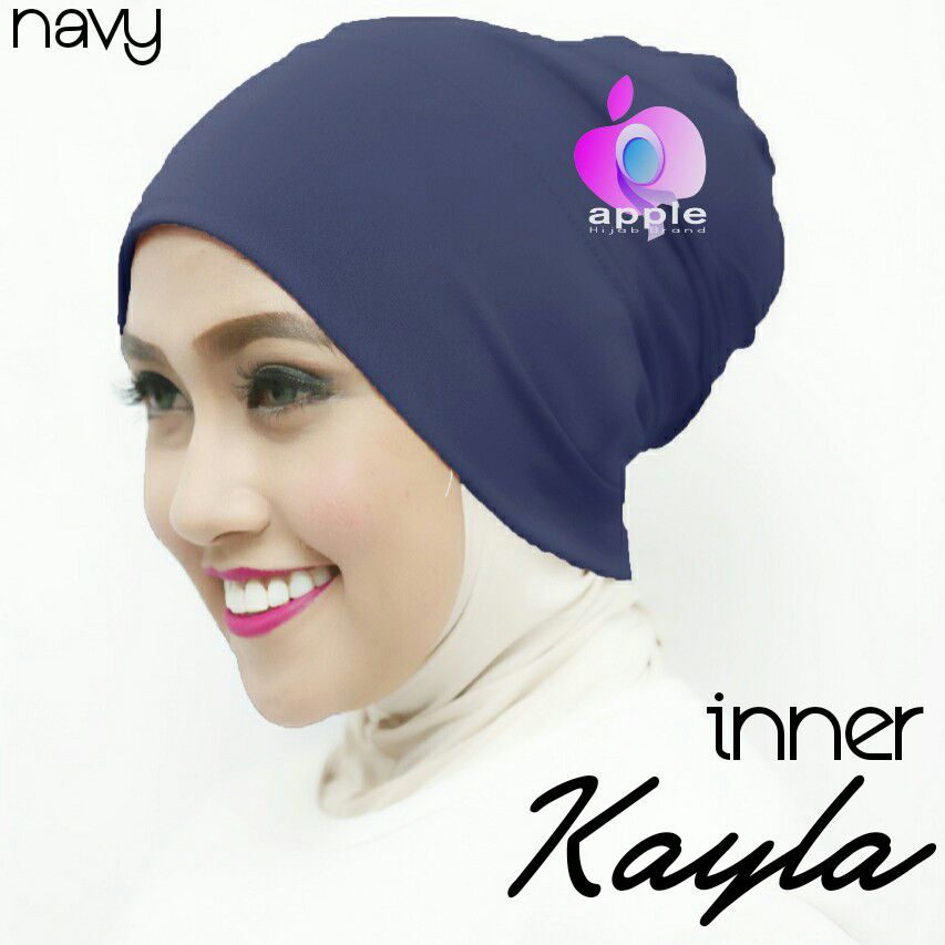 apple hijab inner kayla navy