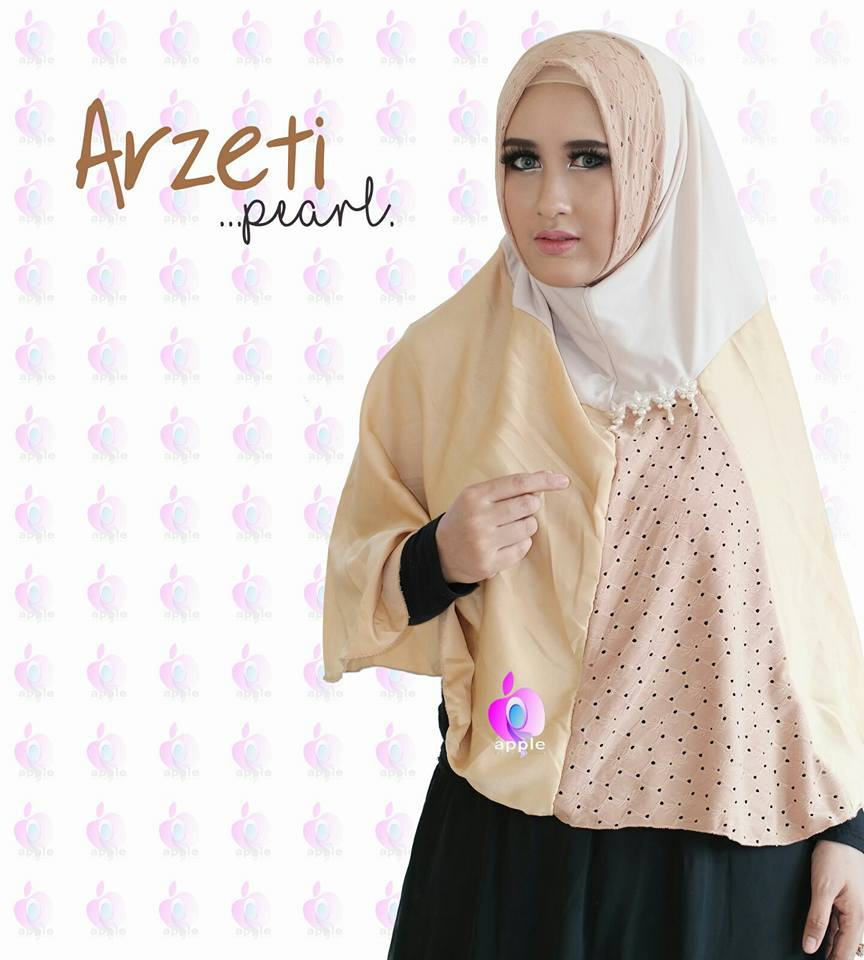 Arzeti Pearl Premium by Apple Hijab salem