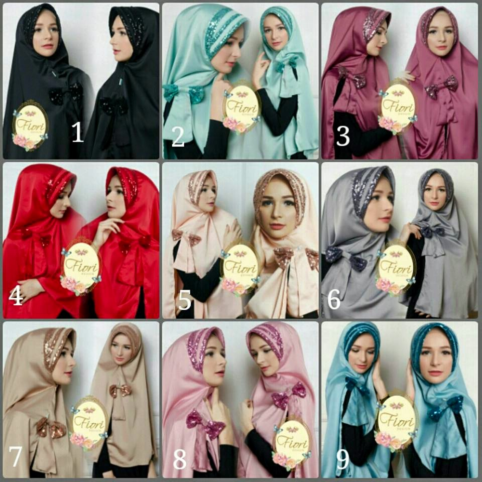Khimar Afifah by Fiori Design seri warna
