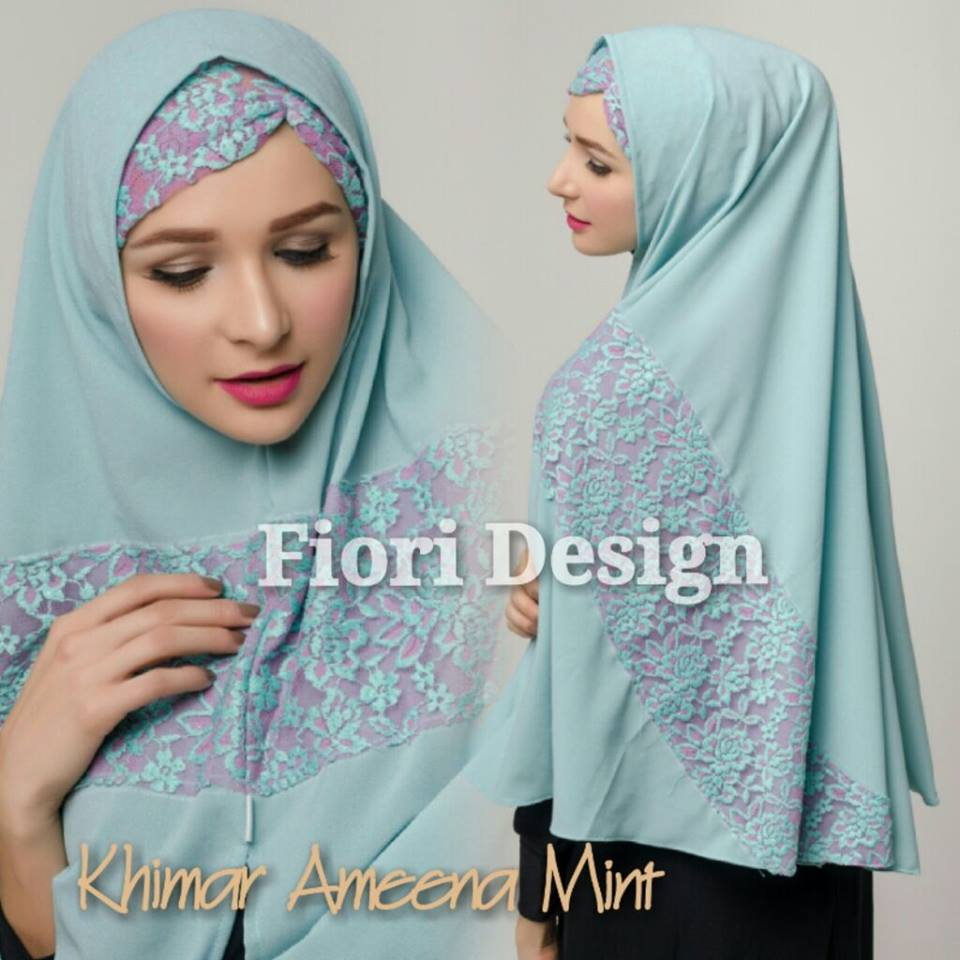 Khimar Ameena by Fiori mint