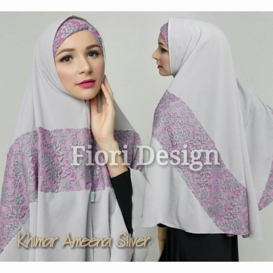Khimar Ameena by Fiori silver