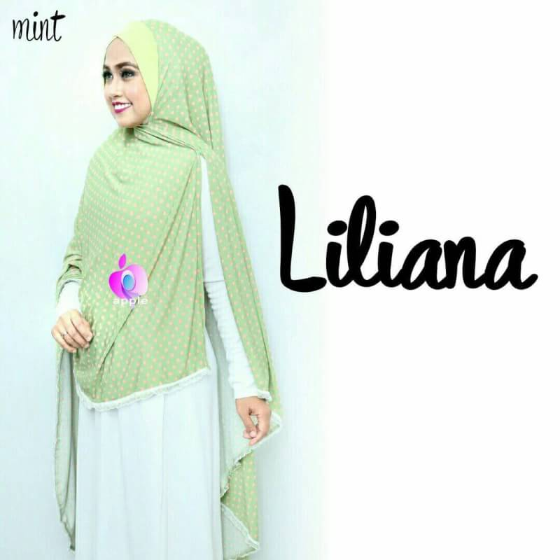 Liliana Khimar Syar'i by Apple Hijabmint