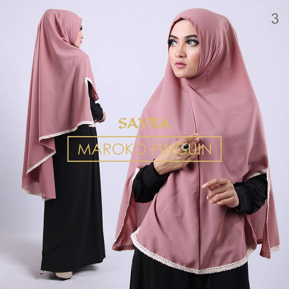 Maroko Pinguin Sayra DUSTY PINK