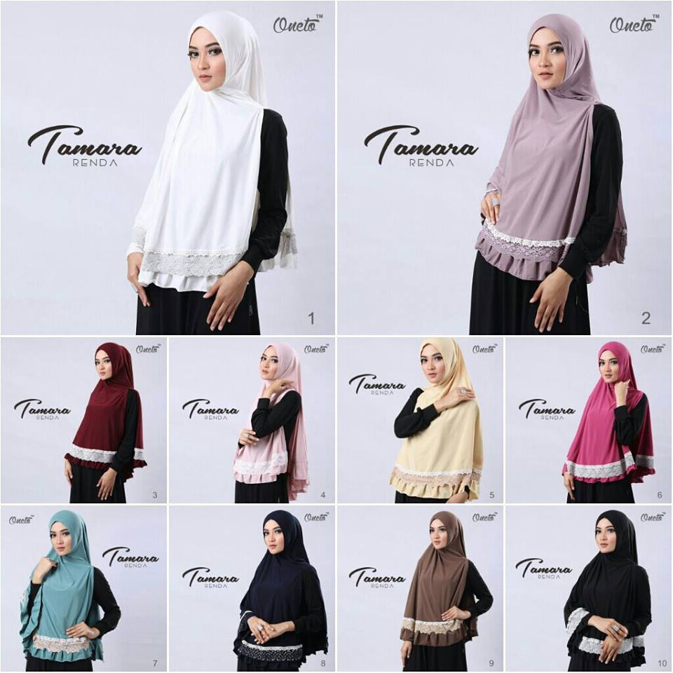 Tamara renda by Oneto seri warna