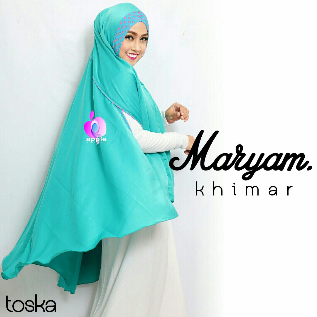 apple hijab khimar maryam toska