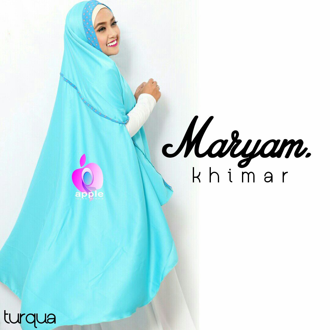 apple hijab khimar maryam turqua