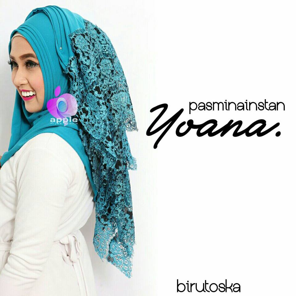 pastan yoana by apple biru tosca