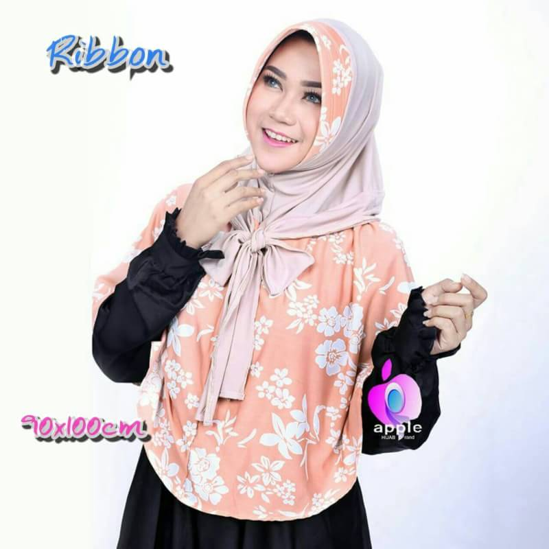 jilbab syar'i ribbon by apple1