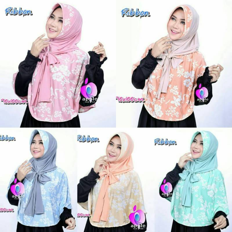 jilbab syar'i ribbon by apple4