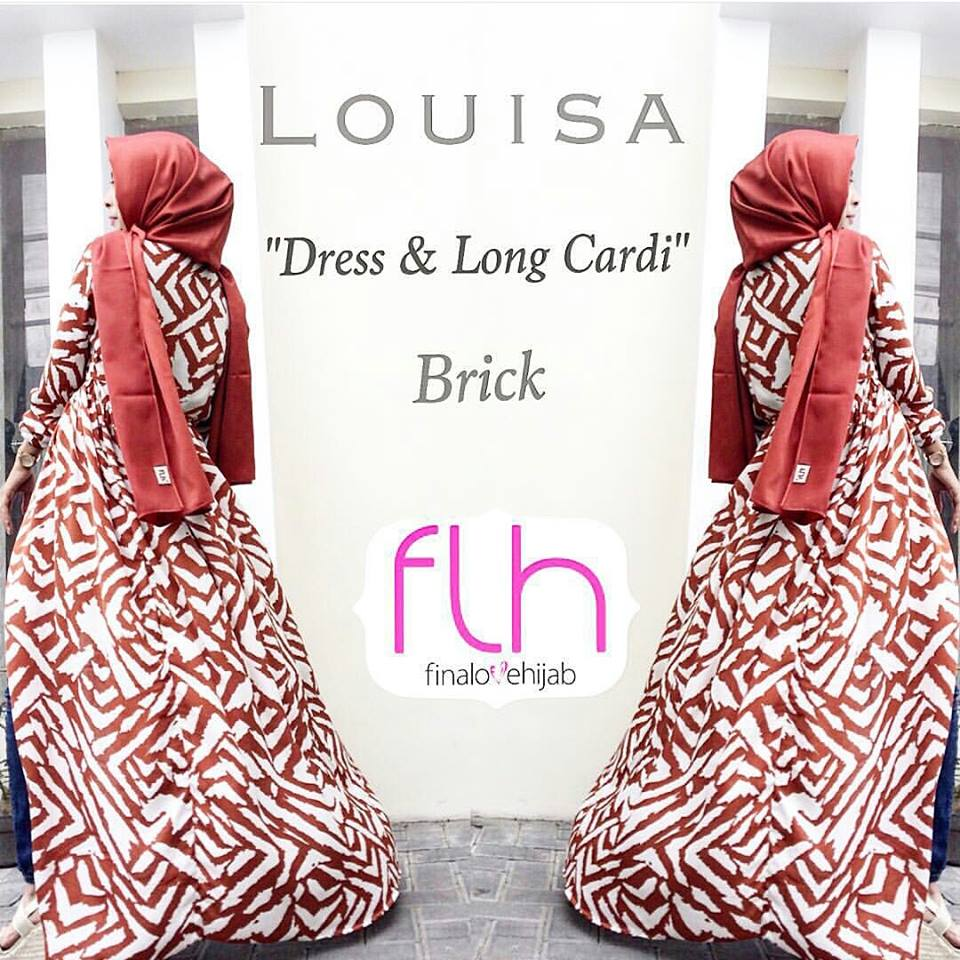 louisa dress & long cardi bata