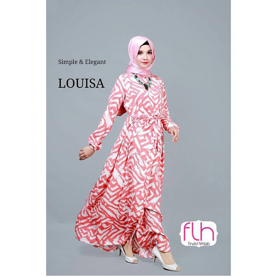 louisa dress & long cardi dusty pink