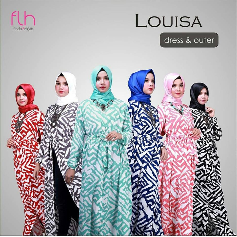 louisa dress & long cardi seri
