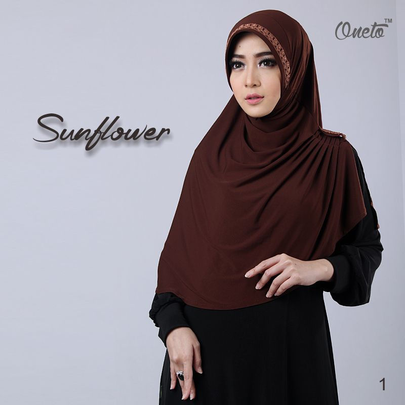 sunflower by oneto coklat