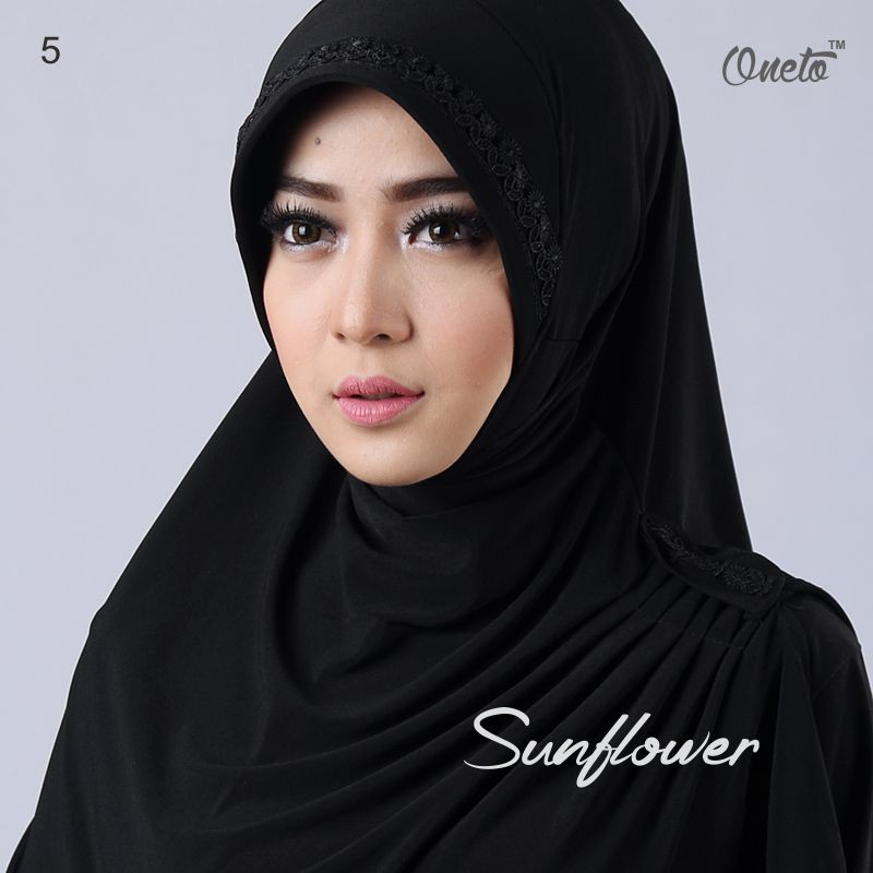 sunflower hitam