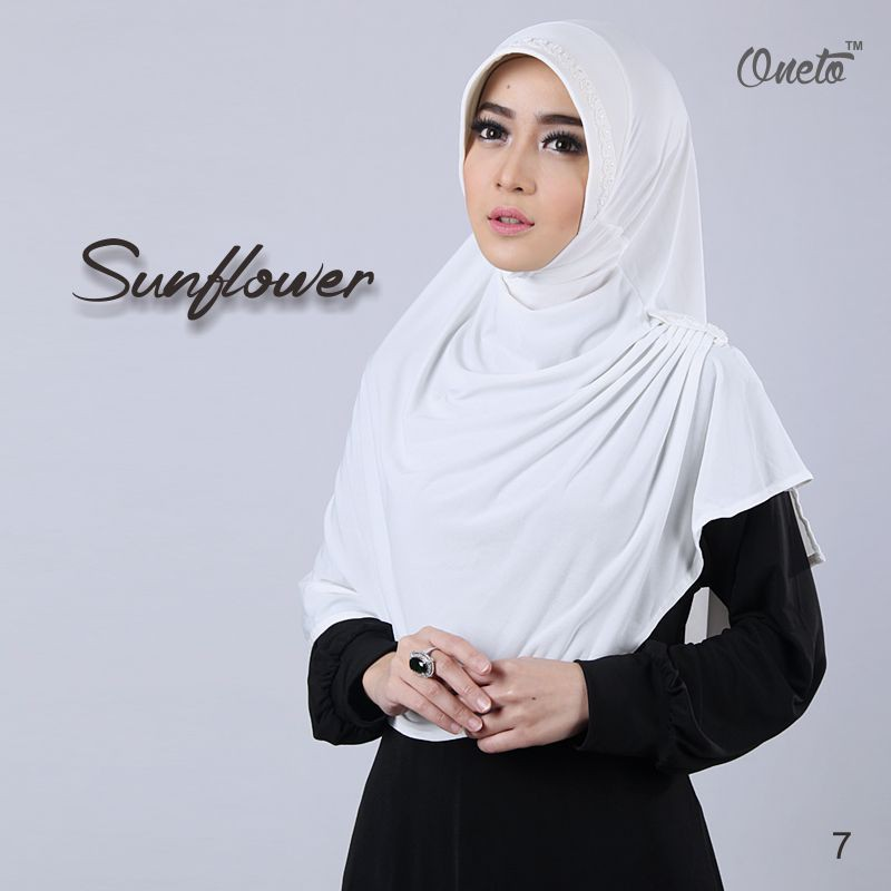 sunflower putih