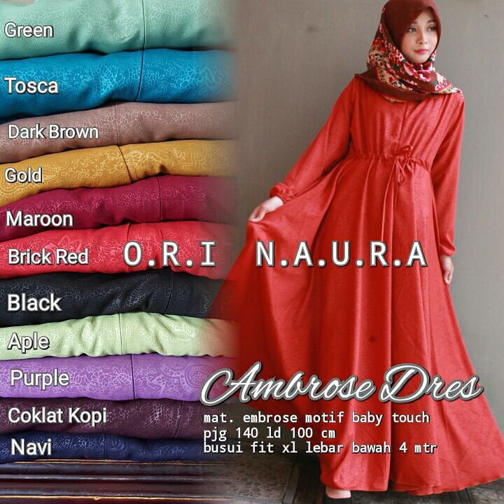 Ambrose Dress By Naura 2