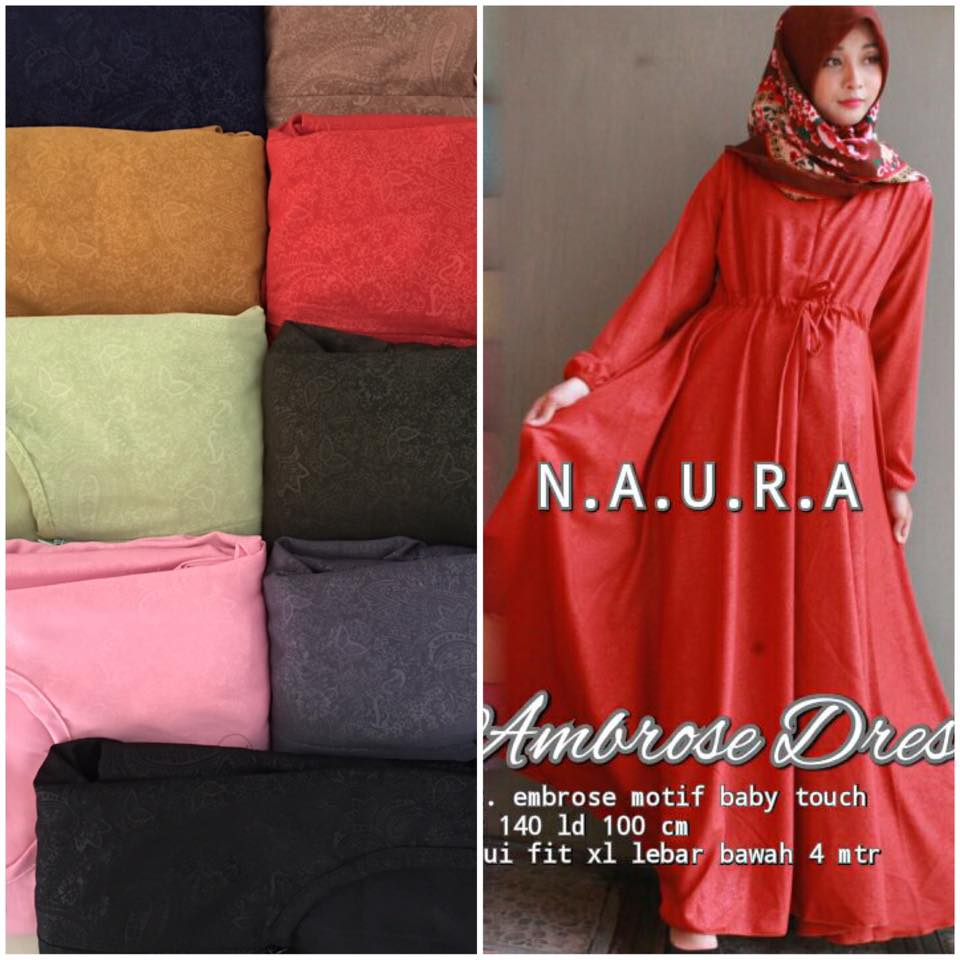Ambrose Dress By Naura 9