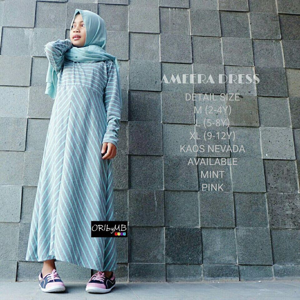 Ameera dress kids by ORIbyMB 2