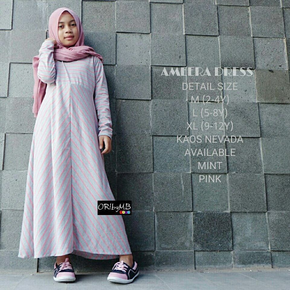 Ameera dress kids by ORIbyMB