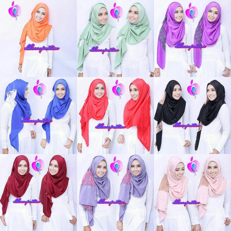 Delova Pastan By Apple Hijab 6