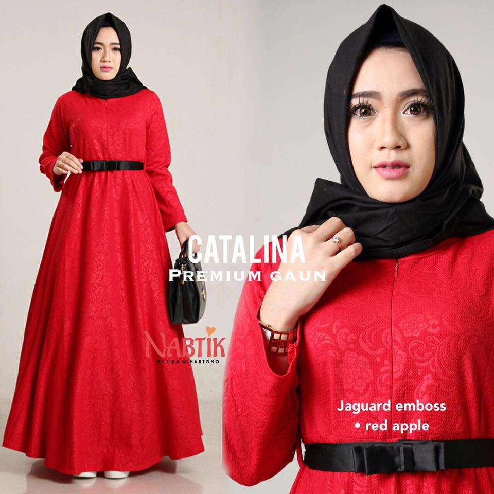 Dress Catalina premium Gown By Nabtik 1