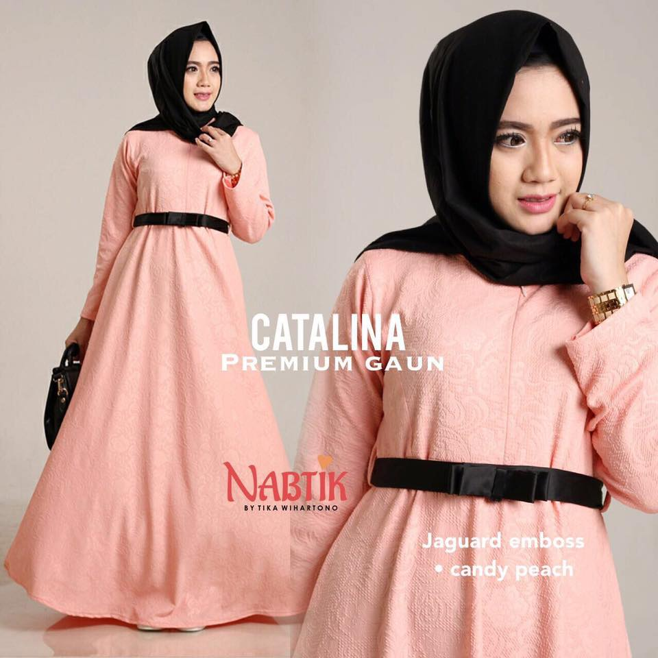 Dress Catalina premium Gown By Nabtik 2