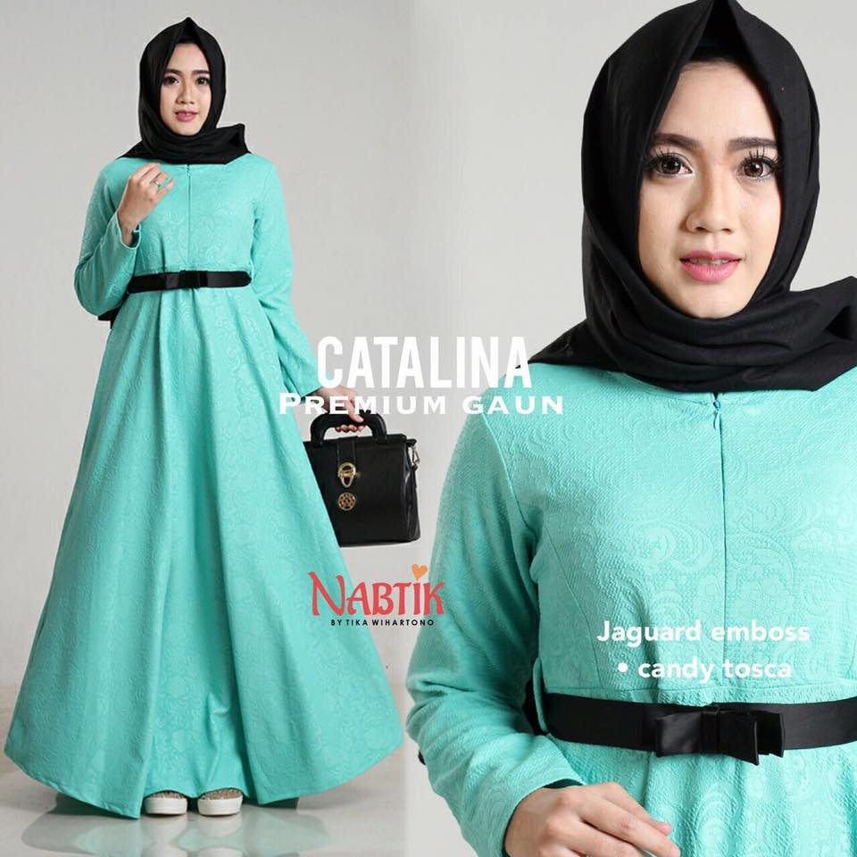 Dress Catalina premium Gown By Nabtik 3