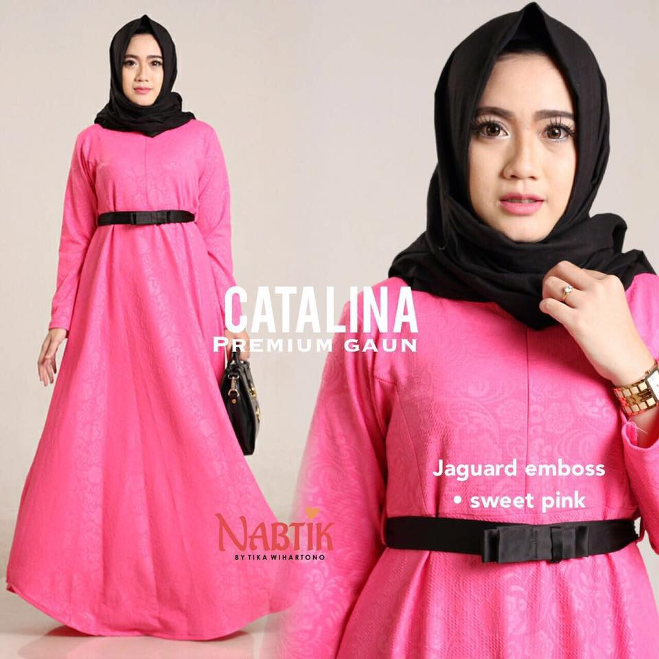 Dress Catalina premium Gown By Nabtik 4