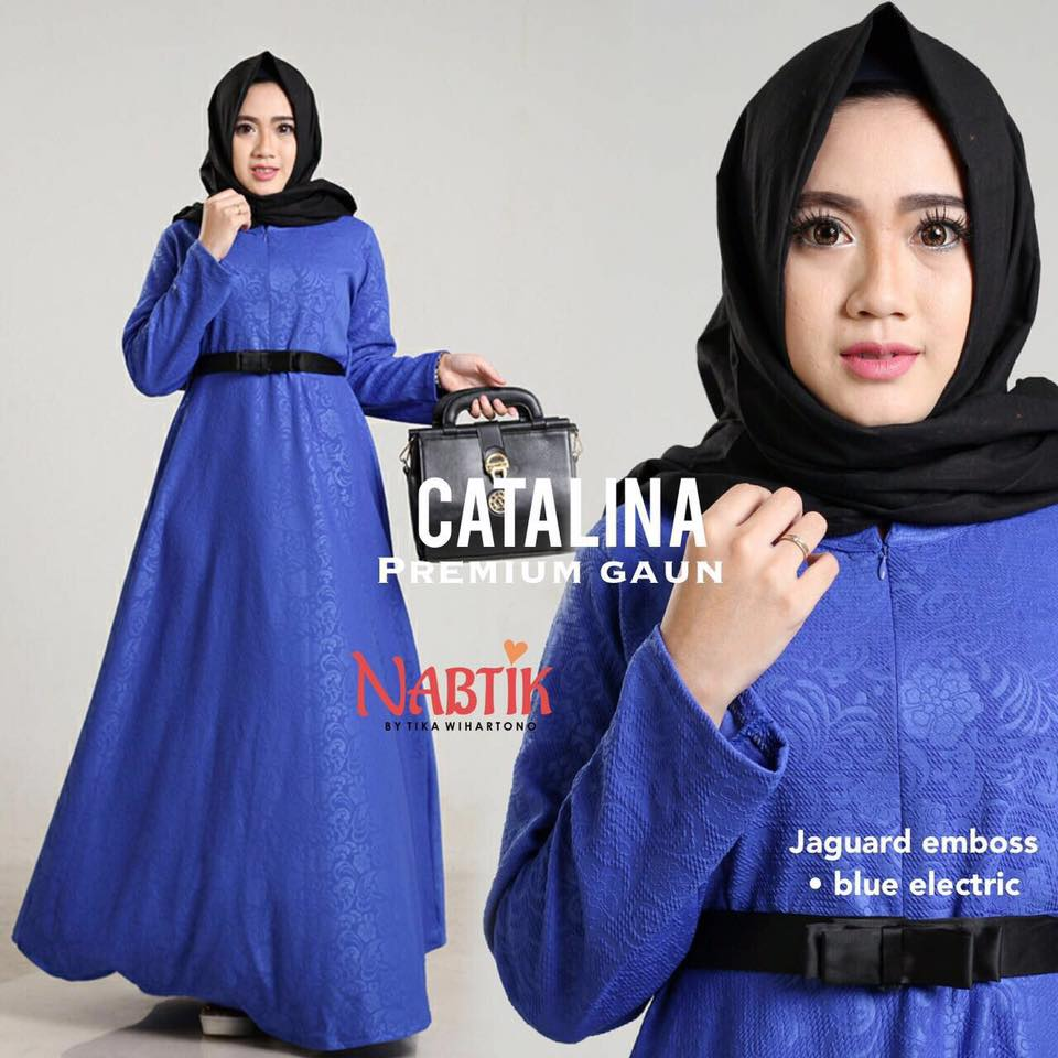 Dress Catalina premium Gown By Nabtik 5